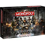Assassin's Creed Syndicate - Monopoly Juego de mesa Standard