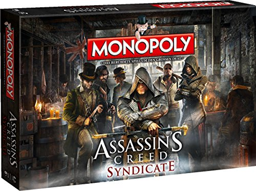 Winning Moves Monopoly - Assassins Creed Syndicate - Assassins Syndicate Creed Monopoly
