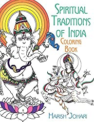 Spiritual Traditions of India Coloring Book by Harish Johari (2016-10-08)