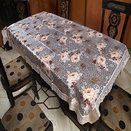 Freely 3-D Print Dining Table Cover For 6 Seaters  available at amazon for Rs.499
