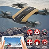 Quadcopter , JXD 523W 2.4G 6-Axis Altitude Hold HD Camera WIFI FPV Foldable RC Drone by Togather