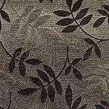 Tela para tapicería al metro tela revestimiento felpilla terciopelo sintética café