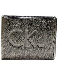 Artículo de cuero de hombres CK CALVIN KLEIN JEANS color negro 999 CHK101
