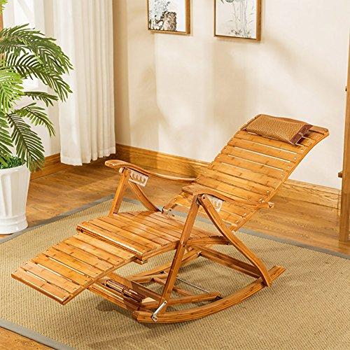LCPG Freizeit Bambus Bett Stuhl Liege Falten Freizeit mittagspause Stuhl Strand zurück Garten sonnenliege