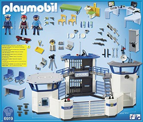 Playmobil   Estación de policía con la cárcel (6919)