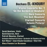 Violinkonzert Nr. 1, Hornkonzert & Klarinettenkonzert