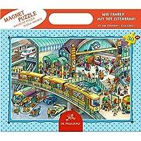 Coppenrath 13244 - Magnetpuzzle Wir fahren mit der Eisenbahn! - 30 Teile Kinderpuzzle