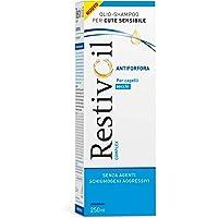 RestivOil Complex Shampoo Antiforfora per Capelli Secchi, Olio Fisiologico con Azione Antiseborroica e Anti Prurito, 250…