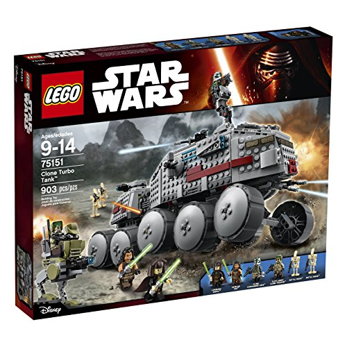 Preisvergleich Produktbild LEGO Star Wars Clone Turbo Tank with Jedis, Battle Droids, and AT-RT | 75151 by LEGO