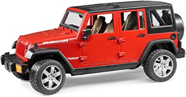 Bruder - Jeep Wrangler Unlimited Rubicon Ölçekli Model