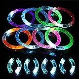 pulseras luminosas brillante KAKOO pulseras fluorescentes varios colores círculos para...