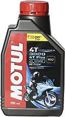 Motul 3000 4T Plus 20W40 Hc-Tech Engine Oil (900 ml)
