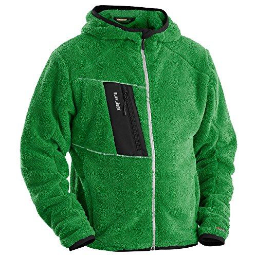 Blåkläder molletonnée veste en fausse fourrure Vert