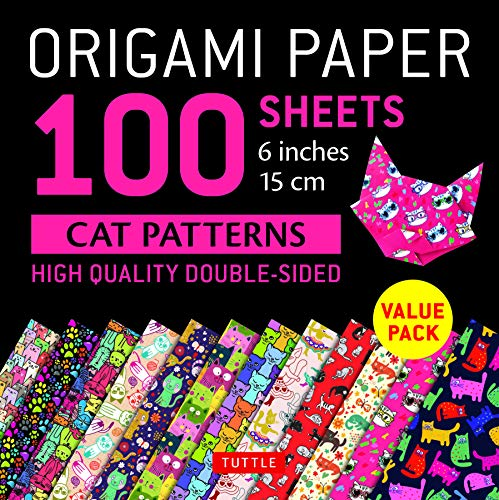Origami Paper 100 Sheets Cat Patterns par  (Feuillets mobiles - Mar 27, 2019)