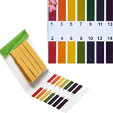 Shopystore Ph Litmus Paper 80 Strips Ph Test Strip Aquarium Pond Water Testing F