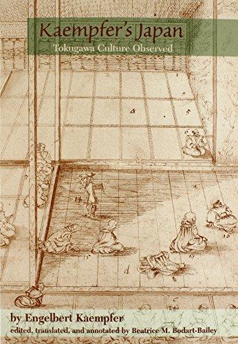 Kaempfer: Kaempfer's Japan Paper: Tokugawa Culture Observed