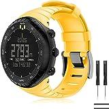 TOPsic Suunto Core Watch armband - TPU sportarmband horloge band reserveband horlogeband voor Suunto Core Samrtwatch