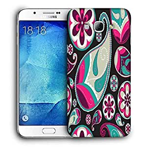 Snoogg Dark Abstract Pattern Printed Protective Phone Back Case Cover For Samsung Galaxy Note 5
