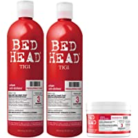 Kit TIGI Bed Head, 1 Shampoo Resurrection, 1 Conditioner Resurrection & 1 Maschera Ristrutturante per Capelli…