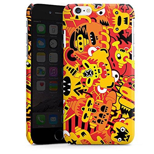 Apple iPhone 5s Housse Étui Protection Coque Imagination Bande dessinée Style bande dessinée Cas Premium brillant