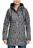 Tatonka Damen Jemma W's Coat Mantel, Darkest Grey, 40