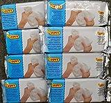 569000 - 8 x 500 g Modelliermasse weiß - lufthärtend - feine Qualität