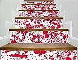 3D Treppen Aufkleber Kreative Shantou Renovierung Treppen DIY Aufkleber 6 Stücke (39 4 Zoll × 7 Zoll)