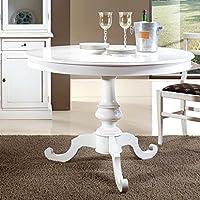 Amazon.it: tavolo rotondo allungabile - Tavoli / Cucina: Casa e cucina