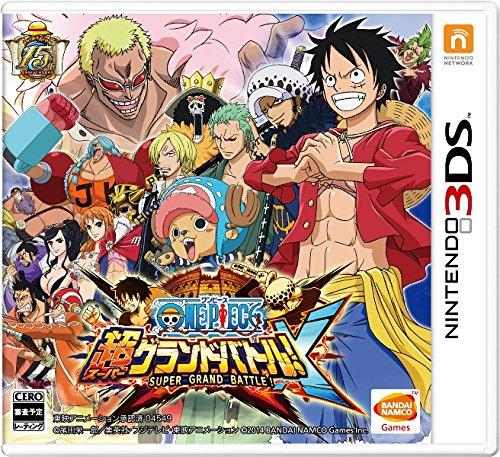 One Piece: Super-Grand-Battle! X [Japanische Sprache] [REGION GESPERRT / Nicht kompatibel mit europäischen Nintendo 3DS] [Japan]