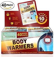40 Pack Sets Compra al por Mayor - Calentadores de mano Premium, Calentadores de Pies o Calentadores de Cuerpo para asegurar Máximo Calor y Comodidad en el Invierno (Por favor, elije abajo)