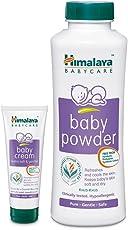 Himalaya Baby Powder, 400g and Baby Cream, 100g