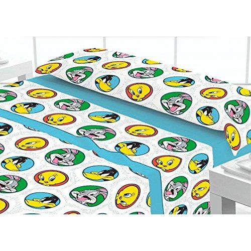 juego-de-sabanas-coralina-bugs-bunny-and-friends-cama-90x190-200-cms