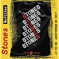 THE ROLLING STONES LIVE IN DÜSSELDORF 2017 No Filter Tour limited edition 2CD set in cardbox