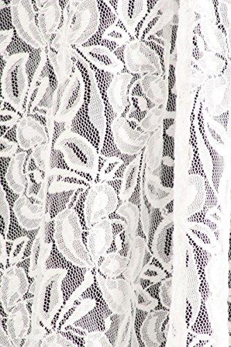 Nachtigall+Lerche -  Cardigan  - Basic - Maniche lunghe  - Donna Bianco