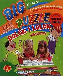 Big puzzle Bolek i Lolek 2x12
