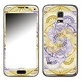 Disagu SF-106104_907 Design Skin für Samsung Galaxy S5 Mini - Motiv Mandala_Wirbel_Violet