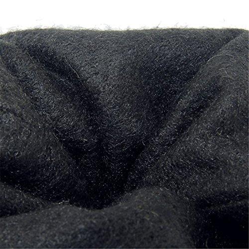 HSXZ Scarpe donna Fleece Materiale personalizzato primavera autunno Novità stivali Tacco a cuneo Round toe-coscia stivali alti per matrimonio Officerriera Red Red