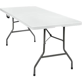 TecTake Table de camping pliante portable–Différents modèles - 183x76x74cm | No. 402153