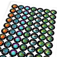 Chunky Hamster Science Evolution of Planet Earth, Reward Sticker Labels, Children, Parents, Teachers