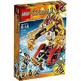 LEGO Legends Of Chima-playthèmes - 70144 - Jeu De Construction - Le Tank Lion De Feu