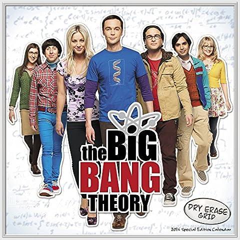 The Big Bang Theory 2016 Calendar: With Customizable Dry Erase Grid - Dry Erase Calendario