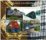 Treno francobolli per collezionisti - Treni del Nord America - 4 francobolli da collezione che caratterizzano i treni - Ideale per la raccolta - condizioni superbe - Mint NH - Stampbank - amazon.it