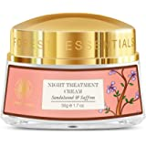 Forest Essentials Sandalwood and Saffron Night Treatment Cream, 50g