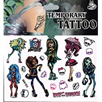 Sheet of Tattoos - Perfect for Party Bags - Frozen, Spiderman and Many More