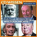 CD WISSEN - Große Frauen und Männer der Weltgeschichte (Teil 23): Ernest Hemingway, Walt Disney, Alfred Hitchcock, Salvador Dali, 1 CD -