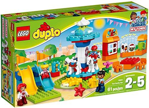 LEGO- Duplo Town Gita al Luna Park, Multicolore, 10841