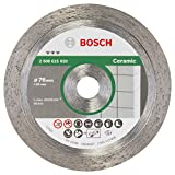 Bosch Professional 2608615020 Diamanttrennscheibe 2 608 615 020 Best for Ceramic 76x1,9x10 mm, 1 W, 240 V, grau