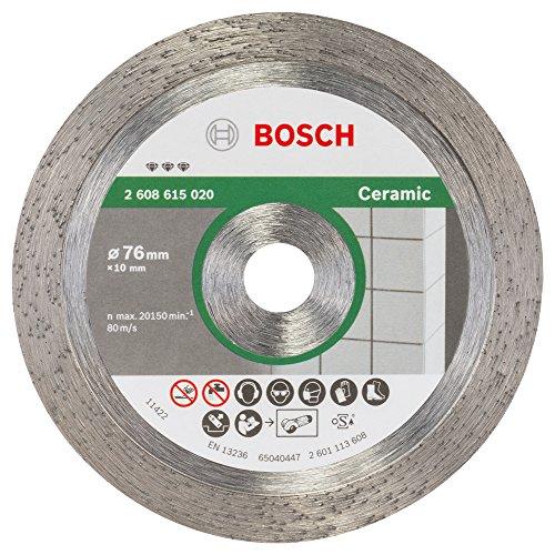 Bosch 2608615020 Diamanttrennscheibe Best for Ceramic 76x1,9x10 mm, 1 W, 240 V Test