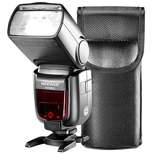 Neewer GN60 HSS TTL Blitz Blitzgeräte für Sony Kamera A77 II A7RII A7R A7 A58 A99 A6000 mit Neuen Mi Hot Shoe, 2.4G Master Slave Speedlite