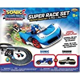 Sonic All Stars Racing Race Set Transformed Sonic and Shadow Cars 8ft Track by TGO by TGO